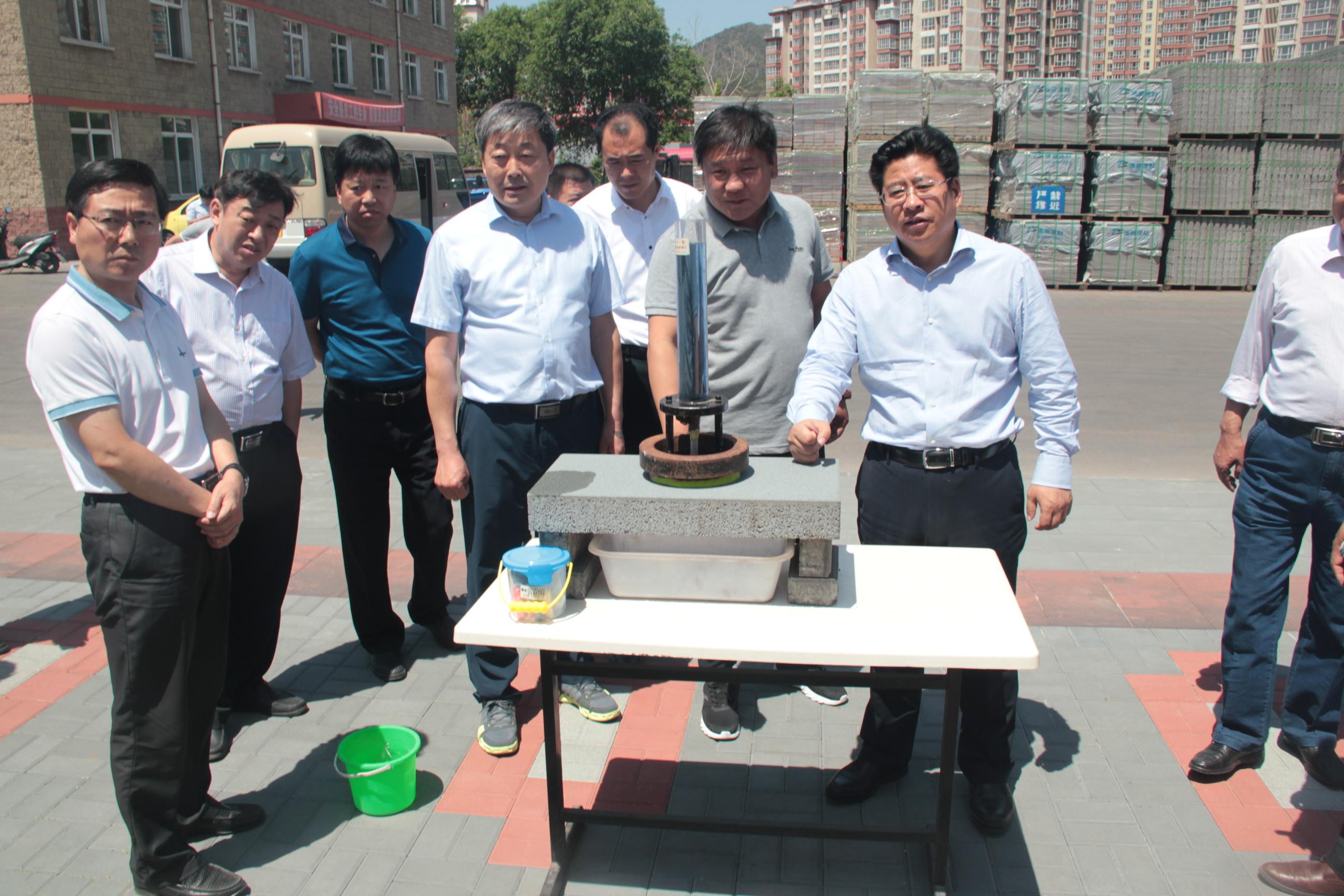 2017承德市副市长李晋宇到公司视察