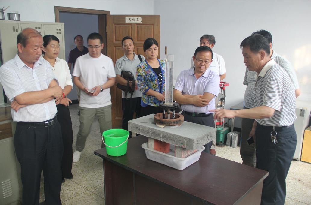 2016河北省工信厅领导来德厦公司视察
