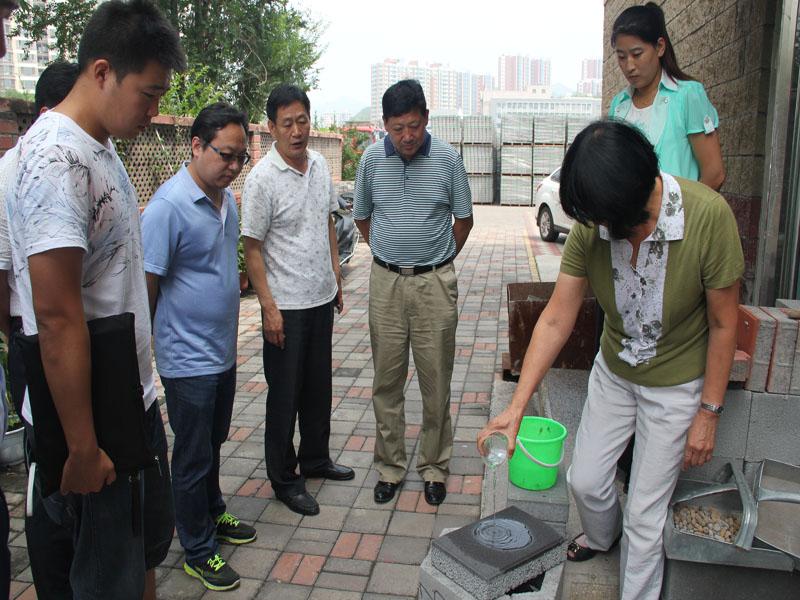 2015北京園林綠化集團公司領導來公司視察