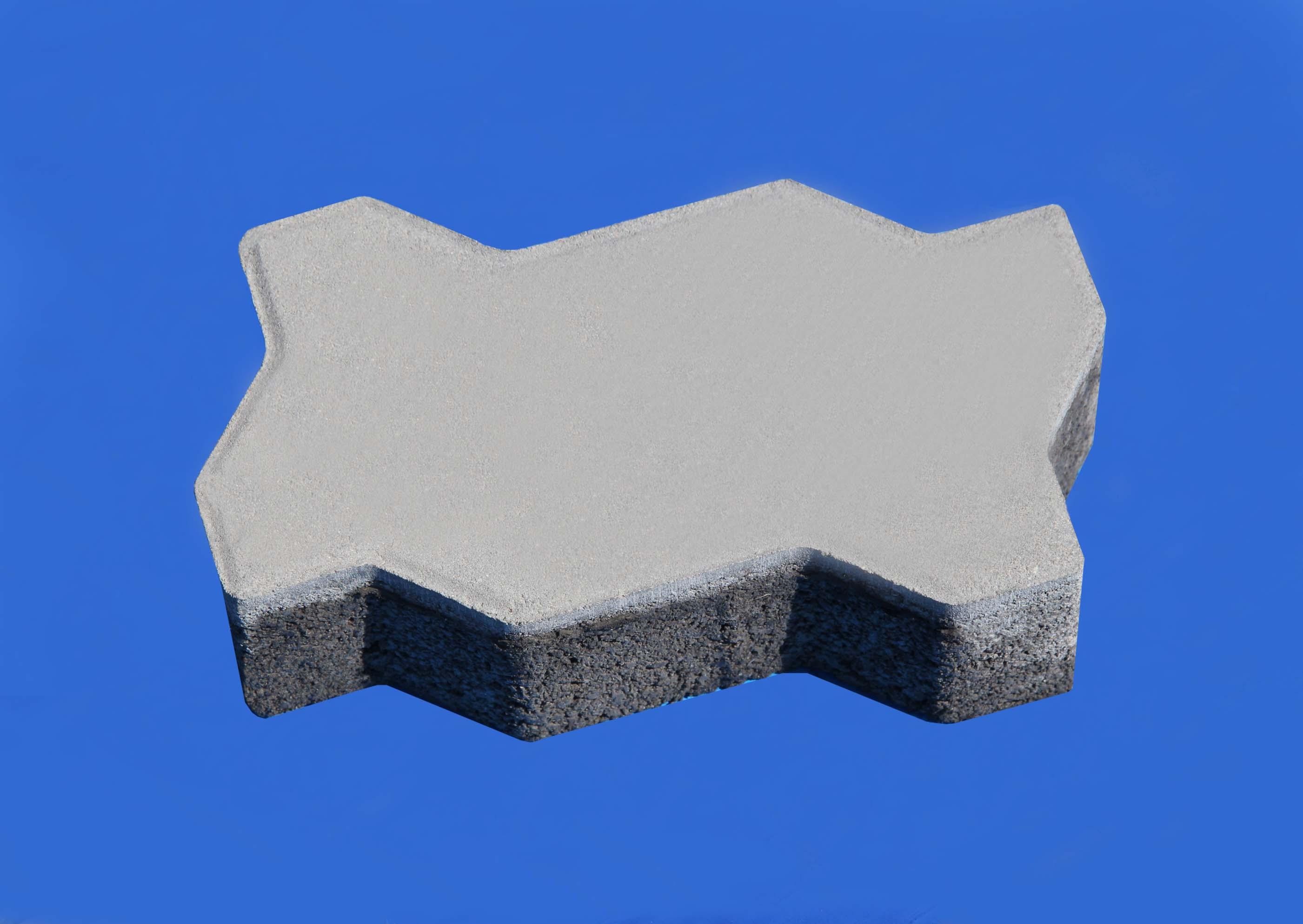 彩色地面磚系列之本色波浪磚