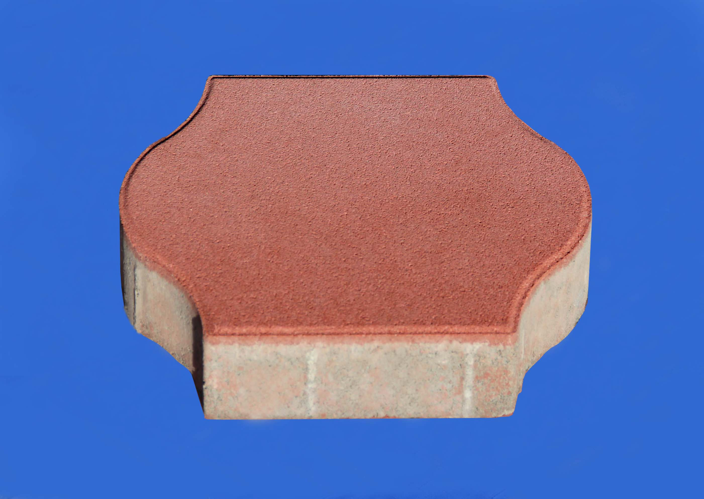 彩色地面磚系列之紅色燈籠磚