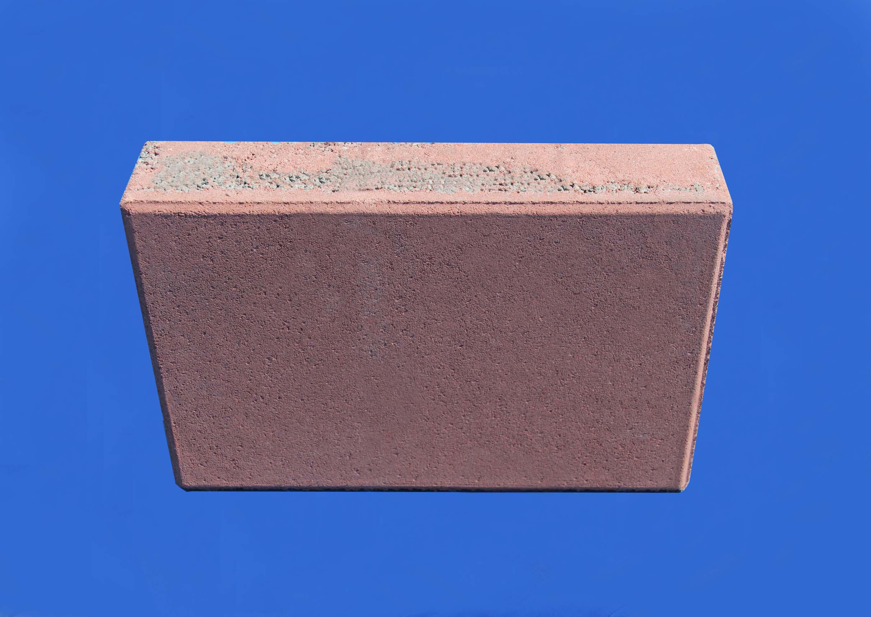 彩色地面磚系列之紅色矩形地磚