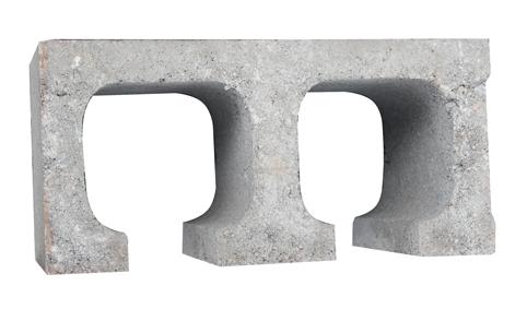 建筑砌块系列之E形承重砌块