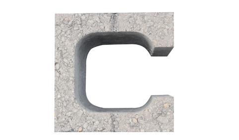 建筑砌块系列之C形承重砌块