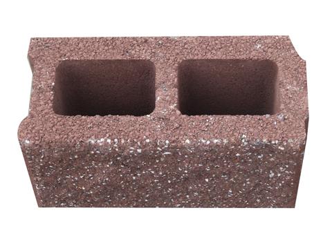 建筑砌块系列之红色190 劈裂砌块砖