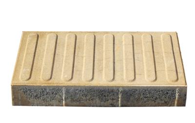 透水砖系之黄色透水大导盲砖