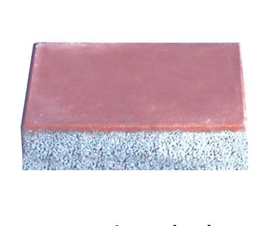 透水砖系列之红色透水矩形砖