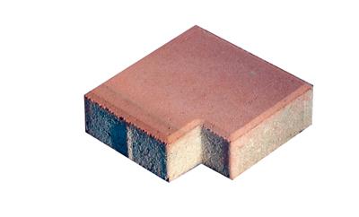 透水砖系列之红色透水缺角砖
