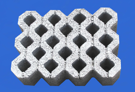 植草砖系列之本色18孔植草砖