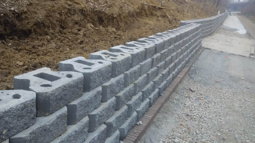 水工磚系列之生態擋土墻水工磚