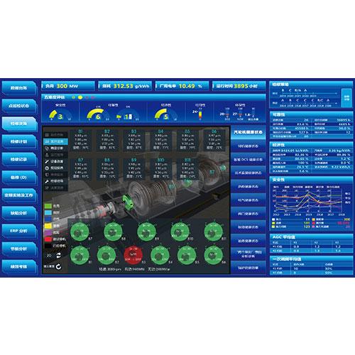 可视化五检合一设备可靠度智能管控系统