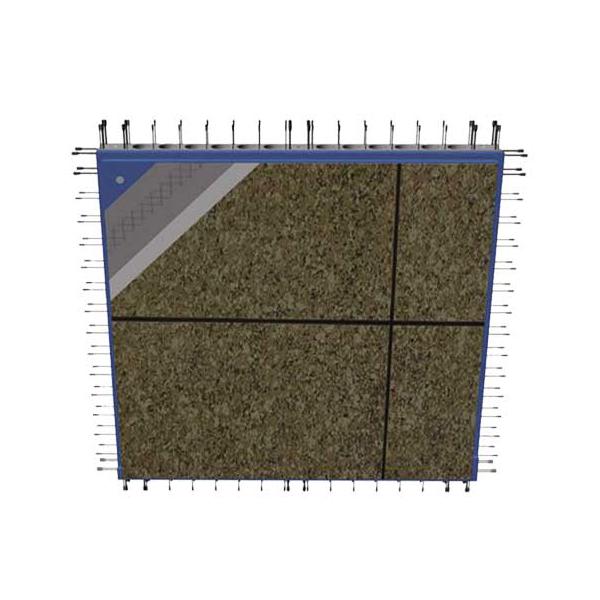 专利产品:结构装饰一体化墙板